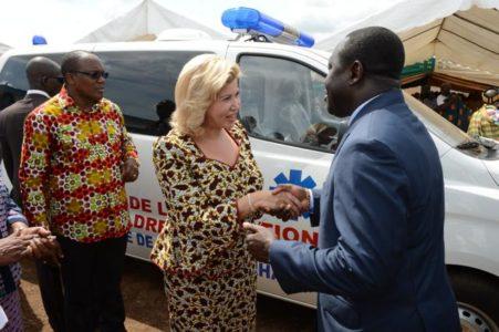 La Première Dame équipe entièrement le centre de santé « Dominique Ouattara »