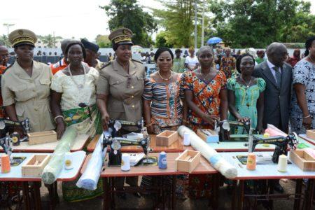L'émissaire de Mme Dominique Ouattara a insisté sur le caractère économique des dons de la Première Dame