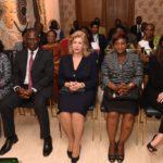 La Première Dame, Dominique Ouattara a traduit toute la douleur qui frappe le couple présidentiel suite au décès du doyen Aka Bonny Lambert