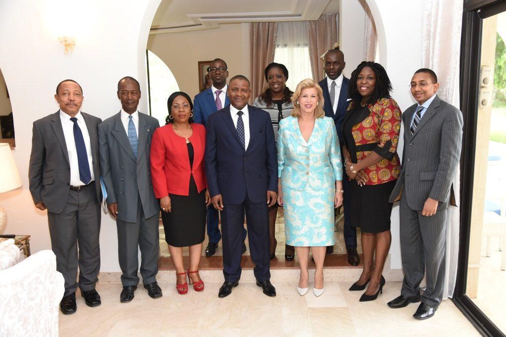 Humanitarian action - Dominique Ouattara