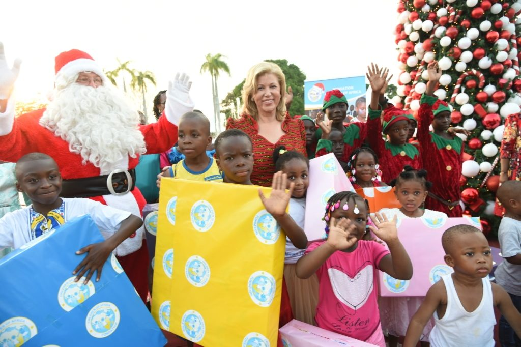 3,000 children celebrate Christmas with Dominique Ouattara