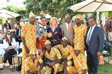 Dominique Ouattara, ambassador of Ivorian arts in Portugal