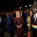 La Première Dame a procédé à la mise sous tension d'Abidjan